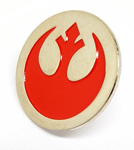 Broche de metal esmaltado, insignia de la Alianza Rebelde de Star Wars