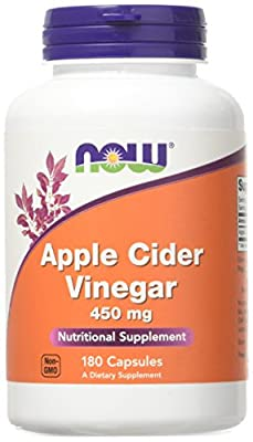 NOW Foods - Apple Cider Vinegar 450 mg 180 caps by NOW Foods