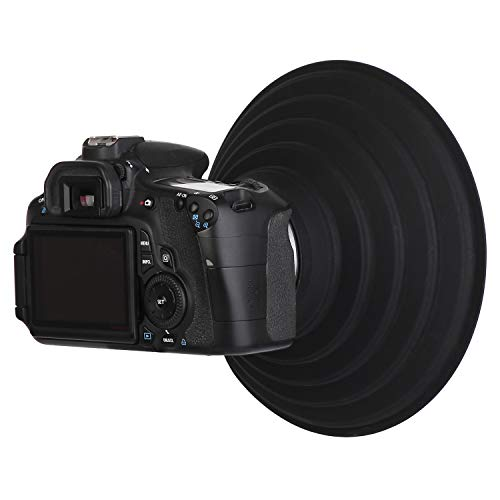 60mm OUYAWEI Lens Hood for Nikon Canon Sony Camera Lens Take Reflection Photos Video Silicone Camera Lens Hood Large