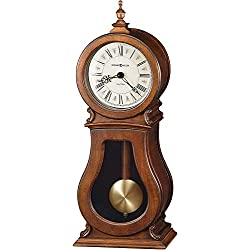 Howard Miller Arendal Mantel Clock 635-146 – Tuscany Cherry with Dual-Chime Movement