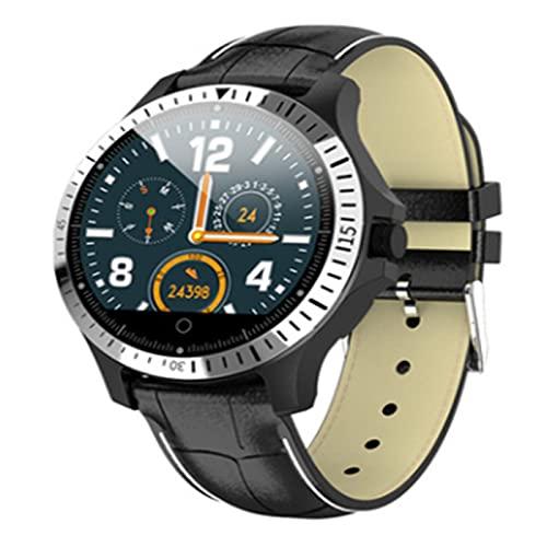 LOVOUO Reloj Inteligente Deportivo con Pantalla táctil a Color de 1.22 (rastreador de Ejercicios a Prueba de Agua IP67 con Monitor de frecuencia cardíaca, podómetro de monitoreo del sueño)
