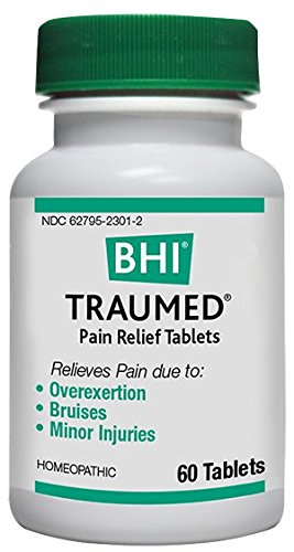 BHI Traumed Pain Relief Tablets, 60 Count