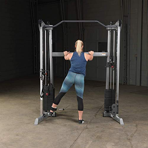 Product Image 6: Body-Solid GDCC200 Functional Training Center 200 for Weight Training, Home and Commercial Gym