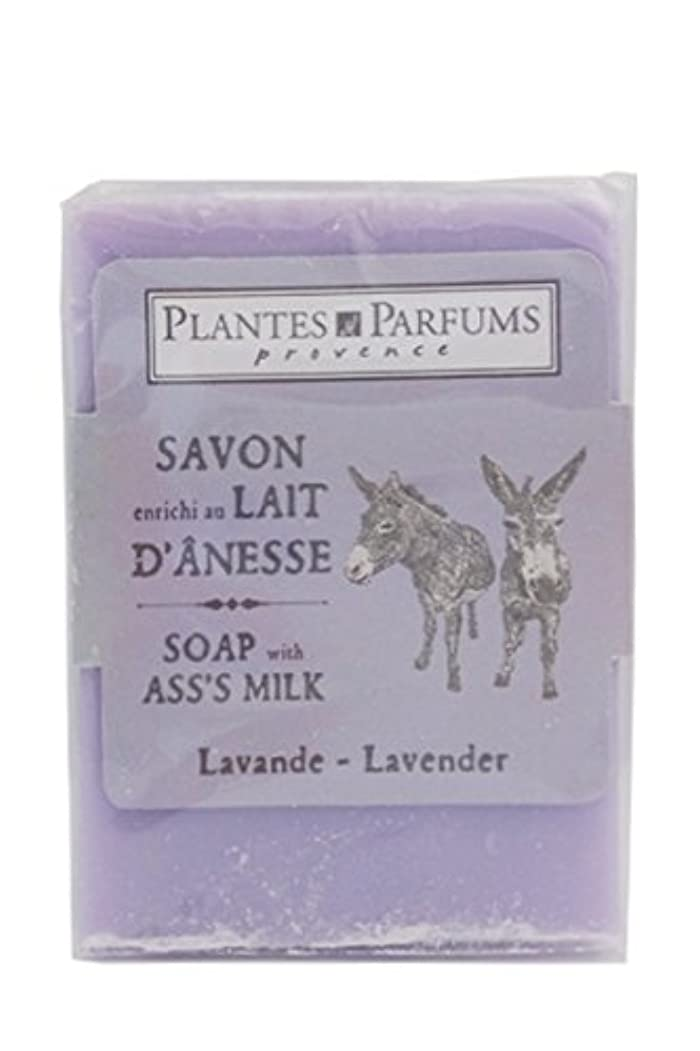 カブ伝導構築するPlantes&Parfums [プランツ&パルファム] ロバミルクソープ100g ラベンダー