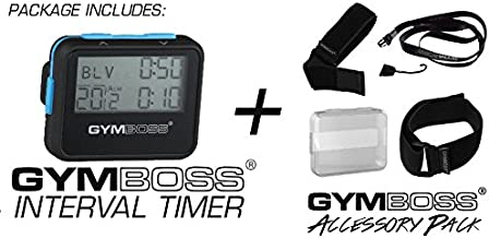 Gymboss Interval Timer and Stopwatch Accessory Pack Kit
