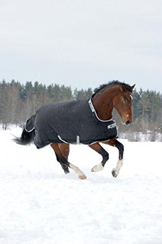 Bucas Smartex Rain Regendecke Winterdecke Black 115-165 (130)