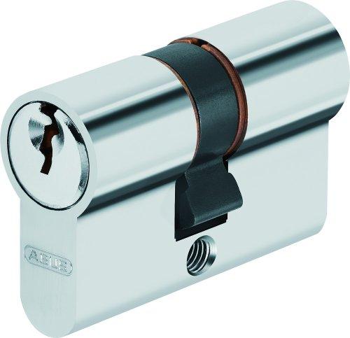 ABUS 260155 - Cilindro perfilado (C50N, longitud 25 25), color níquel