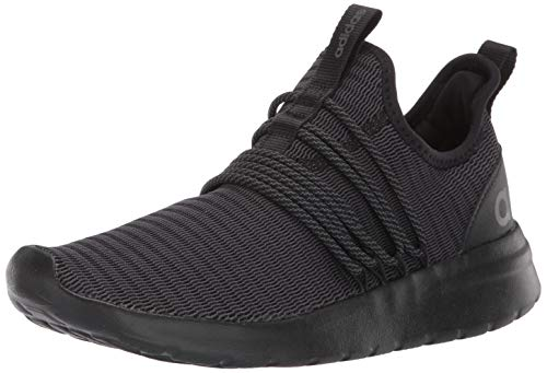 adidas Men's Lite Racer Adapt Shoes, black/black/grey, 9.5 M US