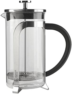 Leopold Vienna Coffee Maker 1,0L, 10.3 x 17.399999999999999 x 21.6 cm, Silver