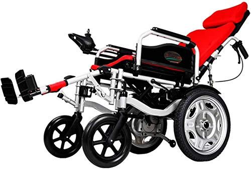 WYRRJ Elektro-Rollstuhl Elektro-Rollstuhl, ältere Behinderte Auto älteren intelligente automatische tragbare...