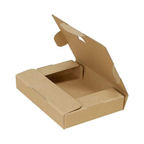 ボックスバンク クリックポスト(ラベルサイズ)ダンボール箱 小型 200枚セット【153×110×28mm】ゆうパケット FY10-0200