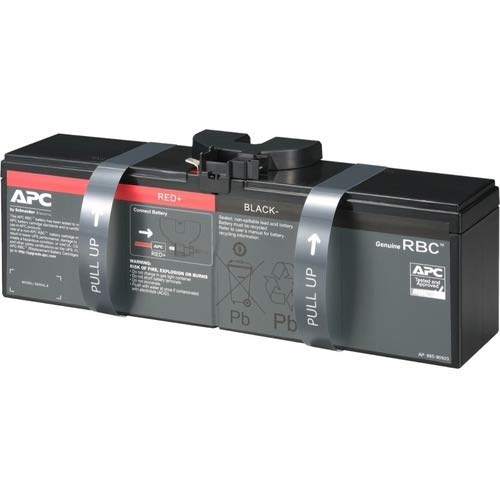 APC UPS Battery Replacement, APCRBC163, for APC UPS BR1500MS and...