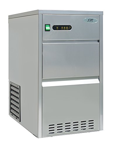 SPT IM-441C 44 lbs Automatic Stainless Steel Ice Maker