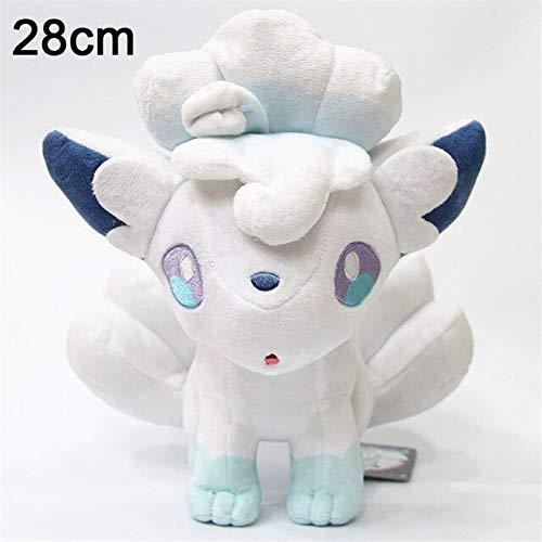 suxiaopei Pikachu Jeep Hyacinth Plüschtier Twisted Cute Grip Kinder Geburtstag Neujahr Geschenk Anime Soft 28cm Ice Vulpix
