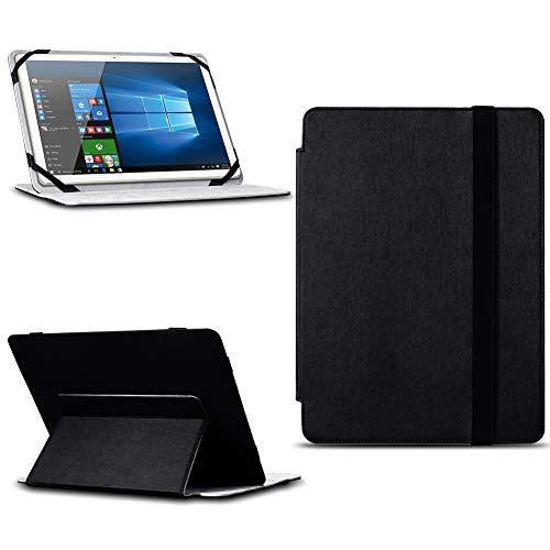NAUC Tablet Tasche Schwarz kompatibel für Jay-tech TXTE12D Hülle Cover Schutzhülle Schutz Case