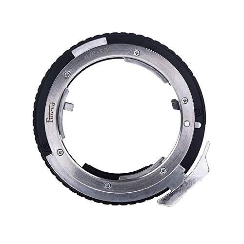 Runshuangyu AI(G)-EOS 9th Gen AF Confirm Lens Adapter Ring, for Nikon AI (G, D, S) Lens to Canon EOS EF EF-S Mount 1D X C 5D Mark II/III 7D 60D 70D 77D 80D 700D 750D 760D 800D 1000D 1200D DSLR Camera