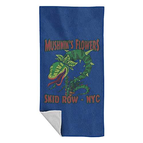 Cloud City 7 Mushniks Flowers Skid Row NYC Little Shop of Horrors Beach Towel