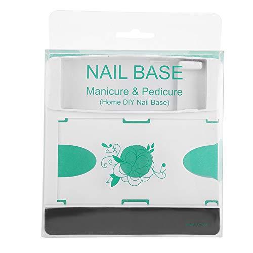 Opbergdoos voor nagelshop, bedrukte model, voorraadbak, professionele nail art printing organizer manicure stempelgel polijstcontainer wit
