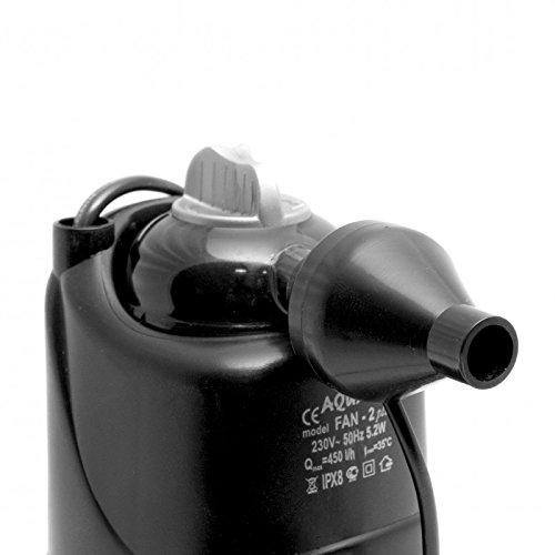 Aquael Fan Mini Plus Innenfilter für Aquarien 260L/H - 3