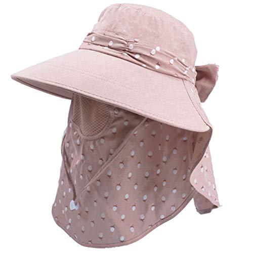 ABOOFAN Zomer Zonnebrandcrème Gezicht Hoed Cap Nek Cover Cap Hoed Anti-UV Supplies Hoed Wandelen Hals Hood Hoed ( Grijs) Feestartikelen
