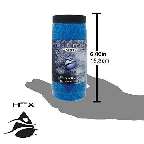InSPAration 7495 HTX Relax Therapies Crystals for Spa and Hot Tubs, 19-Ounce