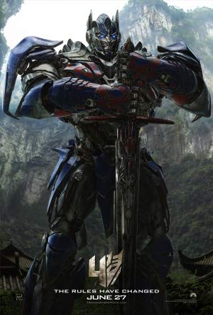 Transformers 4 Age of Extinction – Movie Wall Poster Print – A4 Size Plakat Größe Optimus Prime