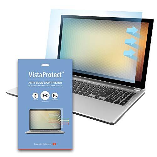 """VistaProtect - Filtro de Anti Luz Azul y Protector Premium para Pantallas de Portátil, Desmontable (15.6"""" Pulgadas)"""