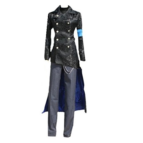 Mister Bear Devil May Cry DMC 5 Vergil Black Cosplay Costume Trench Coat Cosplay Costume