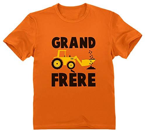 Green Turtle T-Shirts Grand frère 2020 Annonce de Grossesse Cadeau Naissance T-Shirt Garçon 3/4...