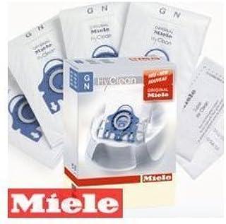 Miele HyClean - Bolsas para aspiradora de Trineo (4 Paquetes x 2 Paquetes, 2 filtros incluidos), Color Blanco: Amazon.es: Hogar