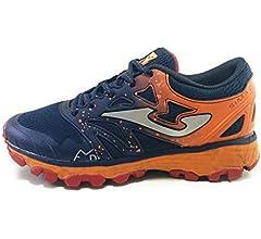 Joma Sima Jr Zapatillas Trail Running (35 EU, Azul): Amazon.es: Zapatos y complementos