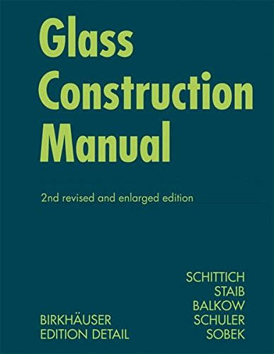 Glass Construction Manual (Construction Manuals)