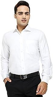 "ZAKOD Full Sleeve Slim Fit Plain Formal Shirt for Men,100% Cotton Shirts,Office wear Colour and Size Choose According 16 Colour avilable M=38"",L=40"",XL=42"""