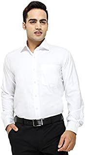 "ZAKOD Full Sleeve Slim Fit Plain Formal Shirt for Men,100% Cotton Shirts,Office wear Colour and Size Choose According 16 Colour avilable M=38"",L=40"",XL=42"""