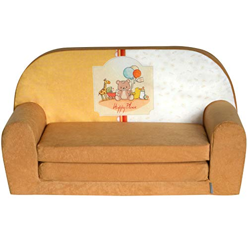 FORTISLINE Kindersofa Mini zum Aufklappen Happy Place W386_01