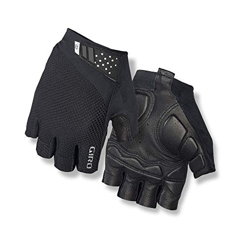 Giro Monaco II Gel Men's Road Cycling Gloves - Black (2021), Large