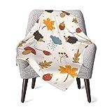 Manta de bebé para niños y niñas lindos animales setas vivero mantas para el hogar lindo manta de cama recién nacido sofá manta de felpa 30x40 pulgadas