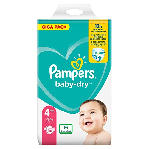 Pampers 81715575 Baby-Dry Pants windeln, weiß