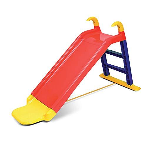KitGarden Tobogán con Escalera + extensión, Rojo, Children Slide, Color (Grupo F....