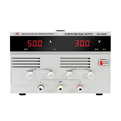 Précis K3050D Régulateur De Tension CC Haute Puissance Réglable 30V 50A Tension Constante Alimentation À Courant Constant Durable (Size : 220V)