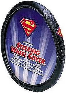 Plasticolor Superman Logo Steering Wheel Cover