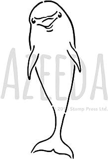 WS00042691 Azeeda Grand A2 Dauphin Pochoir Mural