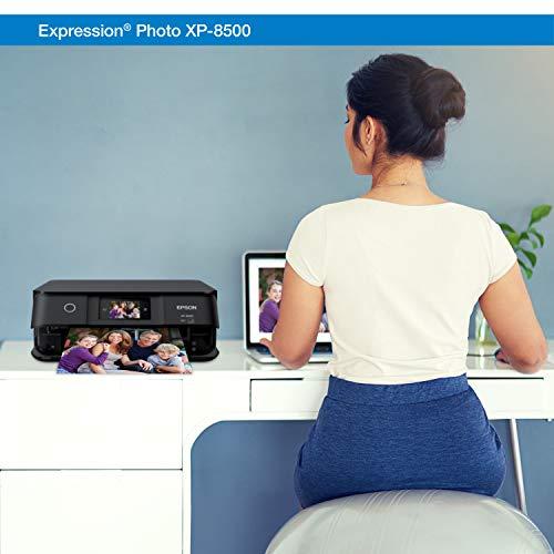 Epson Expression Photo XP-8500 Wireless Color Photo Printer with Scanner and Copier, Amazon Dash Replenishment Ready Photo #3