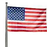 KliKil Bandera Estados Unidos Grande - 1 Bandera Americana para Balcon,...
