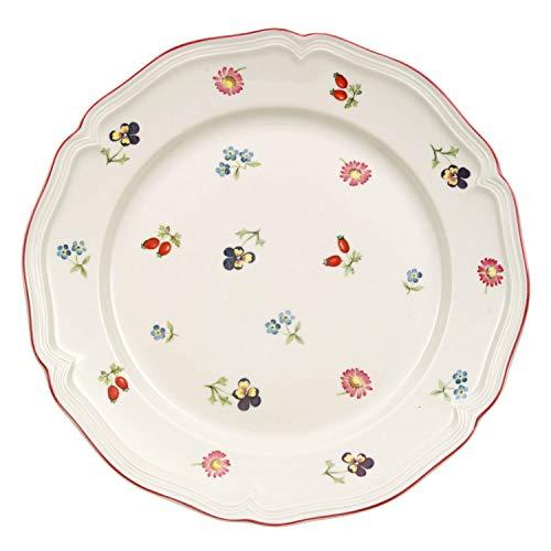 Villeroy & Boch 10-2395-2640 Assiette à Dessert Porcelaine Rouge 22 x 23 x 7 cm 1 Assiette