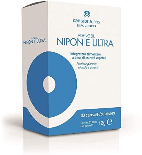 Difa Cooper 38449 Nipon e Ultra Integratore Alimentare, 30 Compresse