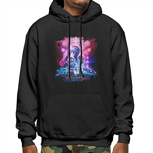ISABETTON Muse Simulation Theory Men's Pullover Hooded Sweatshirt