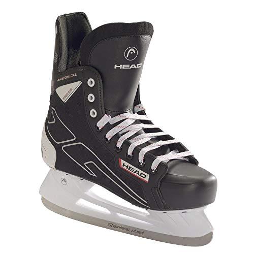 HEAD Eishockeyschlittschuh 100, Icehockey Skate, Gute Passform, Größe 47, Stabiler Eishockey Freizeit Schlittschuh