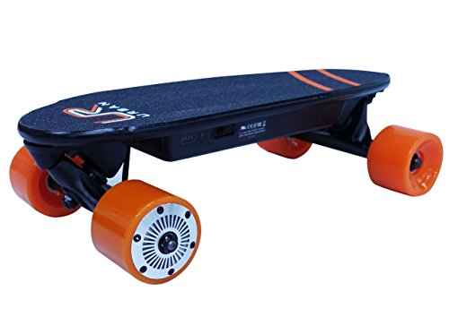 URBAN ROVER UR-1 Mini Skate eléctrico, Naranja, M