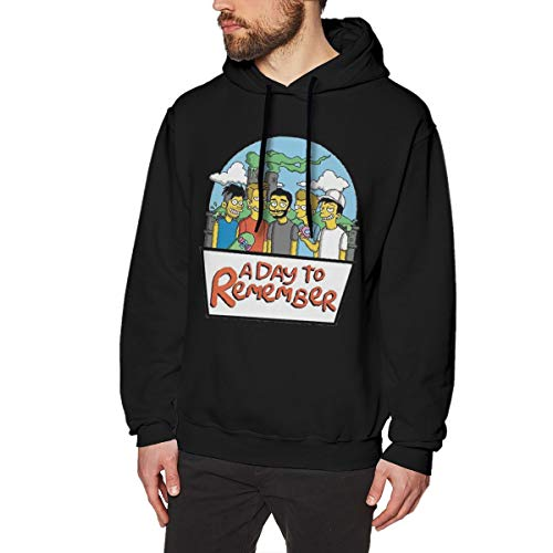 MYHL Men's Simpsons A Day To Remember Graphic Fashion